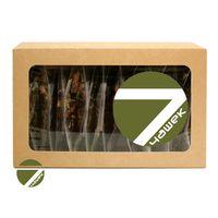 Чайный сет Семь чашек - Коллекция зеленого и черного чая с натуральными добавками купить за 605 руб.
