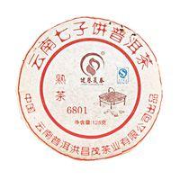 Шу Пуэр 6801 (Блин)  2008 год 110 гр Фабрика Юньнань Пуэр Хун Чен Мао купить за 980 руб.