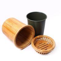Ведро из бамбука для чабани купить за 2530 руб.