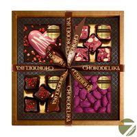 Подарочный шоколадный набор в коробке Очарование, 340 гр купить за 1500 руб.