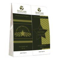 Два чая - День защитника Отечества - Подарочный чайный набор купить за 385 руб.