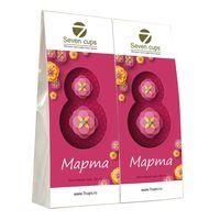 Два чая - Восьмое марта - Подарочный чайный набор купить за 300 руб.