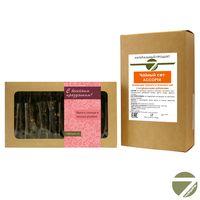 Чайный сет Весенний праздник - Коллекция зеленого и черного чая с натуральными добавками купить за 715 руб.
