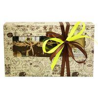 Коробка с окошком Кофейное созвездие - Подарочный набор из кофе и сладостей купить за 1430 руб.