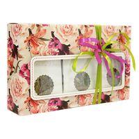 Коробка с окошком Зеленый вкус - Подарочный набор из зеленого чая купить за 715 руб.