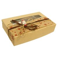 Новогодняя чайная коробочка - Дед Мороз купить за 630 руб.