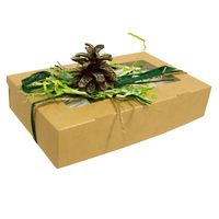 Новогодняя чайная коробочка - Сосновая шишка купить за 670 руб.