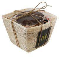 Командирский - Подарочный набор с чаем в корзинке купить за 935 руб.