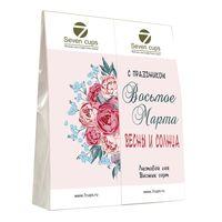 Два чая - Нежная весна - Подарочный чайный набор купить за 350 руб.