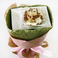 Букет из чая - Маргаритка розовая - Подарочный набор чайный букет купить за 350 руб.