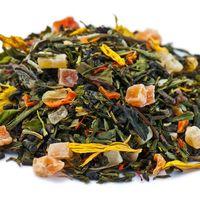 Бенгальский тигр 50 гр - Зеленый чай с фруктово-цветочными добавками купить за 125 руб.