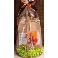 Набор подарочный с чаем и сладостями - Золотая осень купить за 900 руб.