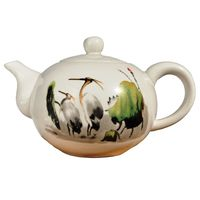 Чайник фарфоровый Журавли 170 мл купить за 600 руб.