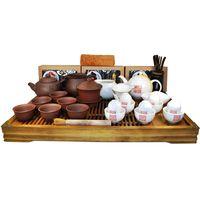Большой набор посуды для чайной церемонии купить за 18975 руб.