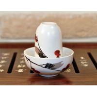 Чайная пара фарфоровая Сакура - пиала и стаканчик купить за 308 руб.