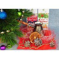 Новогодний набор посуды - Кофейная зима купить за 1430 руб.