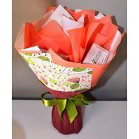Букет из чая - Камелия - Подарочный набор чайный букет купить за 990 руб.