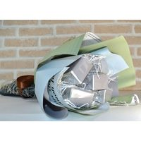 Букет из чая - Гиацинт голубой - Подарочный набор чайный букет купить за 1700 руб.