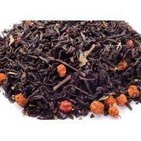 Черный чай с красной рябиной 50 гр купить за 115 руб.