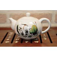 Чайник фарфоровый Журавли 170 мл купить за 660 руб.