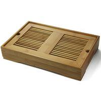 Доска для чайной церемонии (чабань) из бамбука 35 х 23 х 6,5 см купить за 3080 руб.