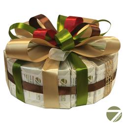 Торт Вафельная трубочка - Подарочный набор из чая купить за 2500 руб.