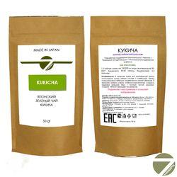 Кукича 50 гр - Зеленый японский чай купить за 260 руб.