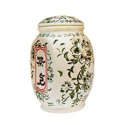 Чайница керамическая Пион цвет зеленый 550 мл купить за 600 руб.