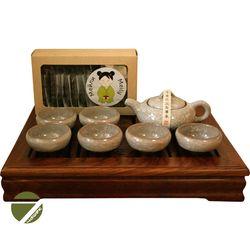 Китай зеленый - Набор посуды для чайной церемонии (цвет на выбор) купить за 5200 руб.