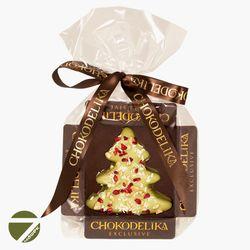 Конфета Марципановая ёлка в мятном шоколаде Chokodelika 31 гр купить за 130 руб.