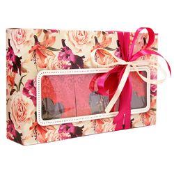 Коробка с окошком Черный вкус - Подарочный набор из черного чая купить за 750 руб.