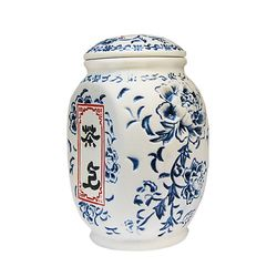 Чайница керамическая Пион цвет синий 550 мл купить за 600 руб.