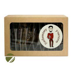 Подарочный чайный набор - Чайный сет Любимому учителю №2 купить за 550 руб.