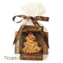 Конфета Марципановая ёлка в молочном шоколаде Chokodelika 31 гр купить за 130 руб.