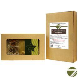 Коробка праздничная с кофе - День защитника Отечества купить за 700 руб.
