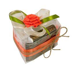 Чайный подарок - Кусочек торта Мандариновый десерт купить за 647 руб.