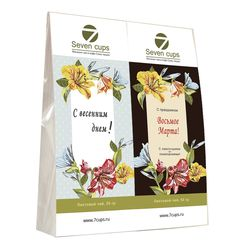Два чая - Лилии - Подарочный чайный набор купить за 300 руб.