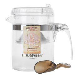 Чайник стеклянный заварочный с кнопкой Гунфу KAMJOVE (типот) 300 мл (TP-140) купить за 870 руб.