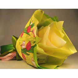 Букет из чая - Солнечный тюльпан - Подарочный набор чайный букет купить за 650 руб.