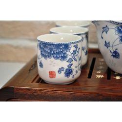 Голубая хризантема - Набор посуды для чайной церемонии купить за 6900 руб.