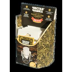 Бумажные фильтры для кофе Чистая чашка, 25шт/уп купить за 400 руб.