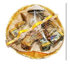 Букет из чая - Жемчужина Дракона - Подарочный набор чайный букет купить за 3600 руб.
