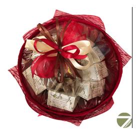 Букет из кофе - Барбарис - Подарочный набор кофейный букет купить за 2000 руб.