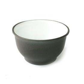 Пиала из исинской глины Кувшинка черная (эмаль) 50 мл купить за 200 руб.