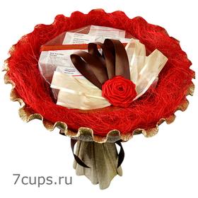 Букет из кофе - Кофейное дерево - Подарочный набор кофейный букет купить за 2000 руб.