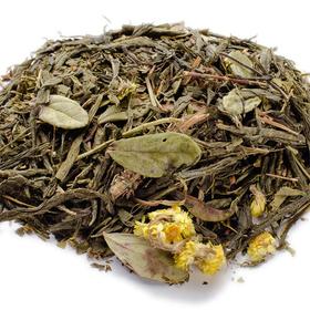 Сенча с чабрецом 100 гр - Зеленый чай с травами купить за 190 руб.