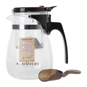 Чайник стеклянный заварочный с кнопкой Гунфу KAMJOVE (типот) 700 мл (ТР-757) купить за 1370 руб.