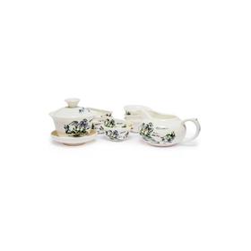 Подарочный фарфоровый набор чайной посуды Горы Алишань купить за 950 руб.