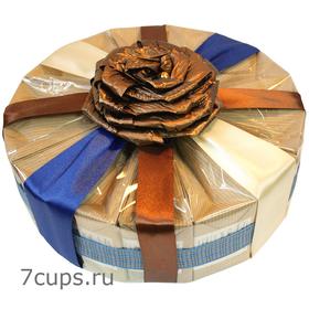 Торт Французский трюфель - Подарочный набор из чая и кофе купить за 3600 руб.