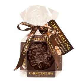 Шоколадная плюшка Chokolelika Темный шоколад с грецким орехом, 30 гр купить за 170 руб.